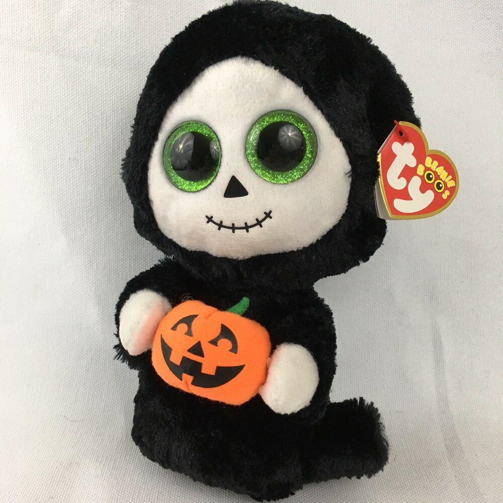 affa621e6d0 Details about Treats 2015 Ty Beanie Boo Halloween Boo Tag New 6