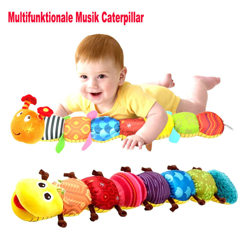 baby spielzeug mit musik wurm raupe lamaze pl schtier motorik mehrfarbig ebay. Black Bedroom Furniture Sets. Home Design Ideas
