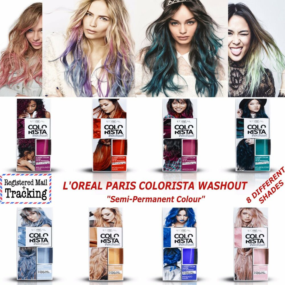 Loreal Paris Colorista Washout Semi Permanent Hair Colour