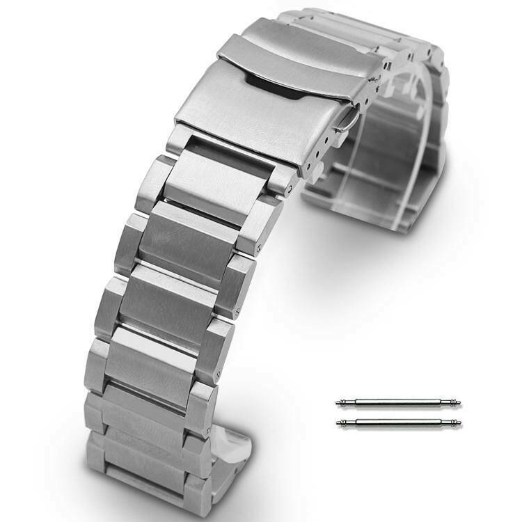 Stainless Steel Metal Bracelet Replacement Watch Band ...