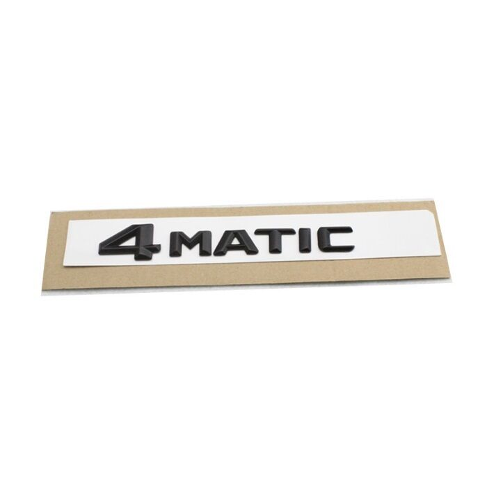 4matic mercedes amg schriftzug emblem logo sticker. Black Bedroom Furniture Sets. Home Design Ideas