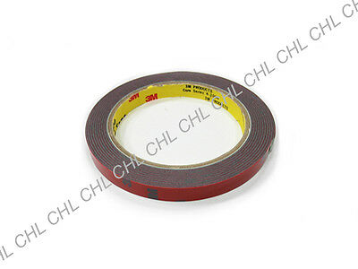 One Roll of 3M Automotive Car Trunk Acrylic Foam Double Sided Adhesive Tape