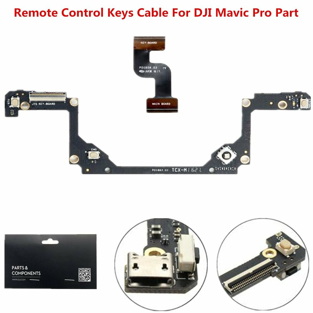 Flexible Keys Cable Board Remote Control Repair Parts For Dji Mavic Replacement Part Circuit R C Helicopter Radio Pro Drones Ebay