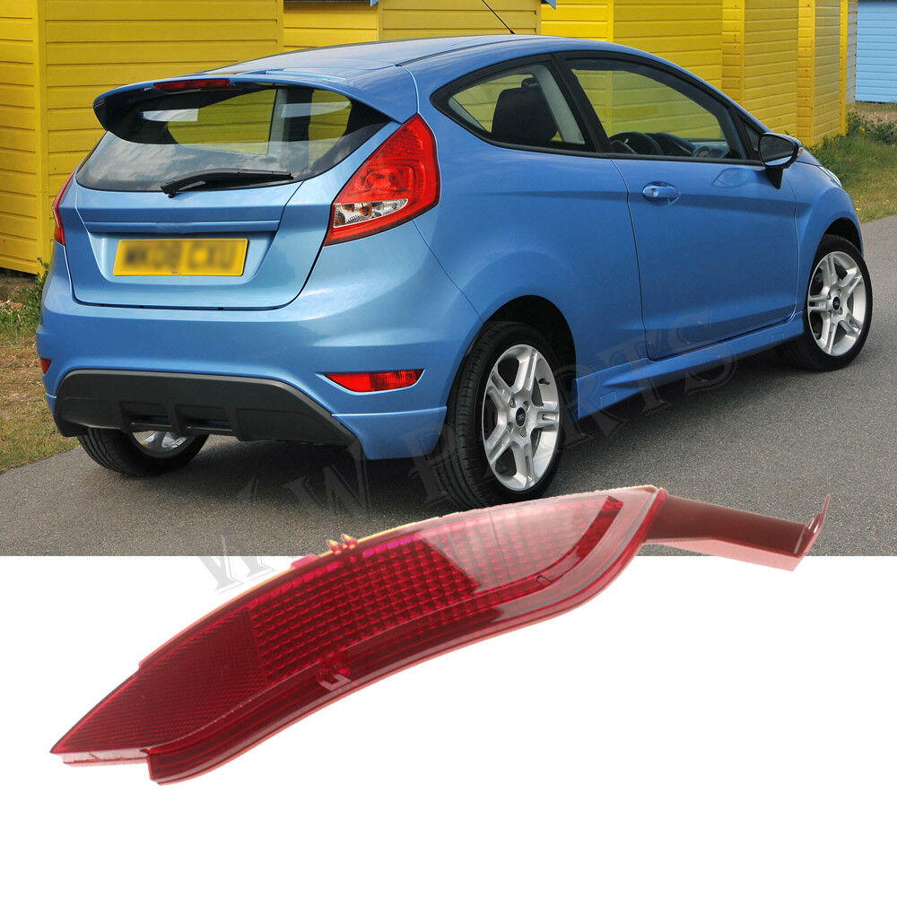 right side rear bumper reflector cover for 2009 2014 ford. Black Bedroom Furniture Sets. Home Design Ideas