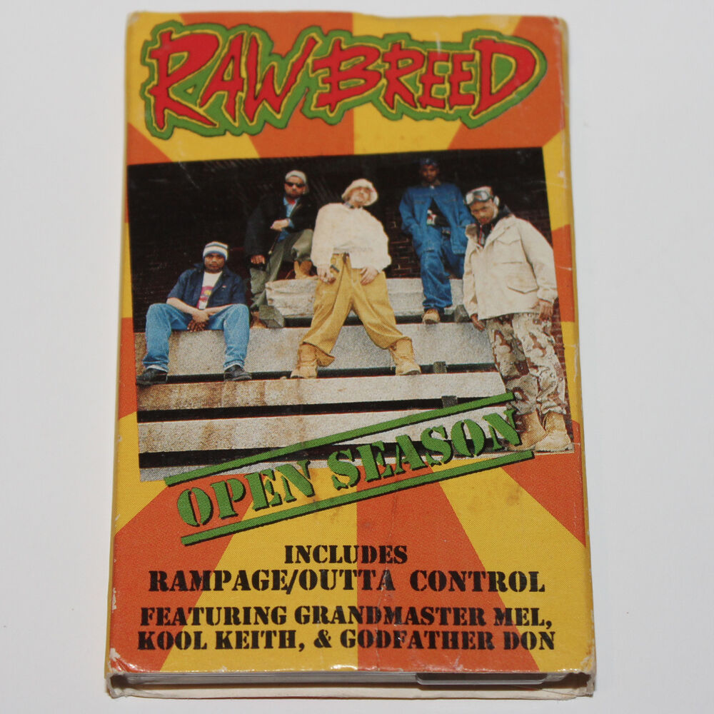 Raw Breed Open Season Cassette Tape Hip Hop Rap '93 Kool Keith Godfather  Don | eBay