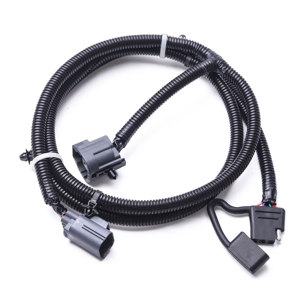 65 trailer hitch wire harness kit connector for 07 17. Black Bedroom Furniture Sets. Home Design Ideas