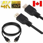 4K Premium HDMI Cable Ethernet High Speed 2160p 3D DVD PS3 3ft 5ft 6ft 10ft 15ft
