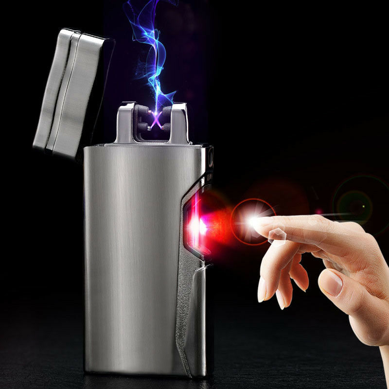 elektrisch usb arc feuerzeug plasma lighter lichtbogen infrarot feuerzeug ebay. Black Bedroom Furniture Sets. Home Design Ideas