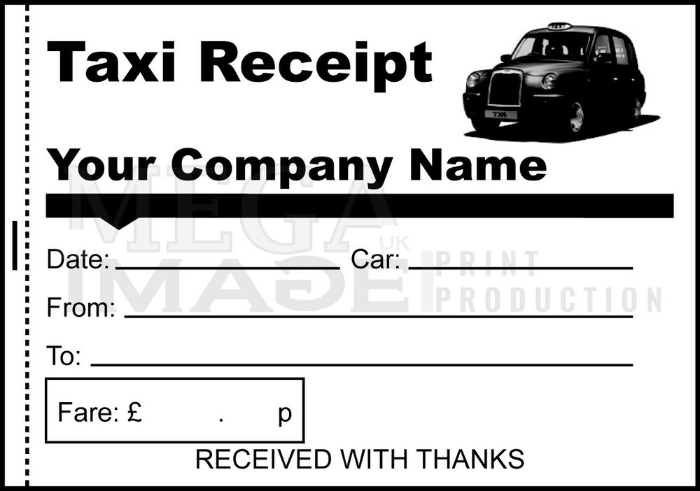 This is a graphic of Candid Printable Taxi Receipts