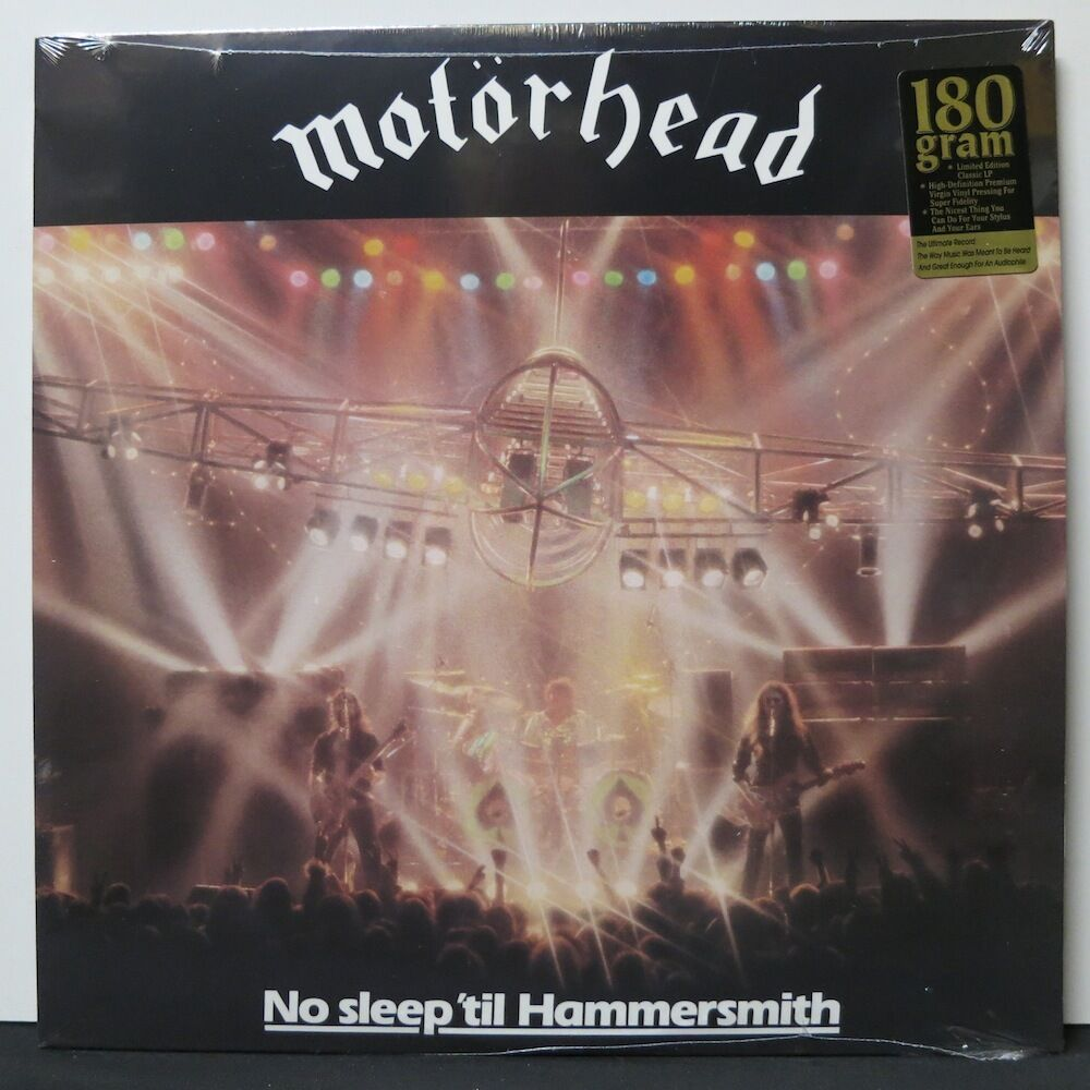 MOTORHEAD 'No Sleep 'til Hammersmith' 180g Vinyl LP NEW & SEALED | eBay