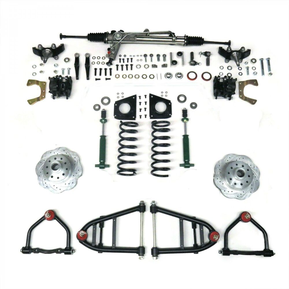 mustang ii ifs kit with power steering for 55