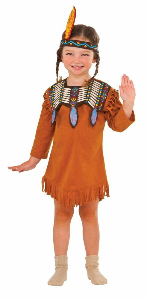 Girls Indian Maiden Pocahontas Toddler Thanksgiving -6129