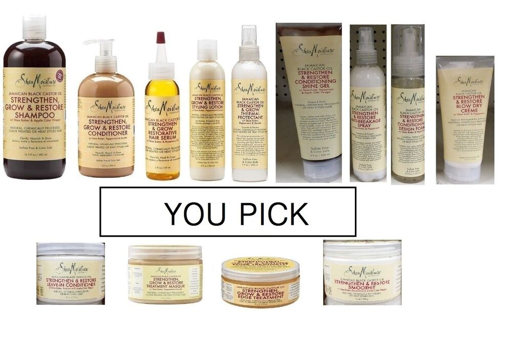 List Of All Natural Black Hair Care Products