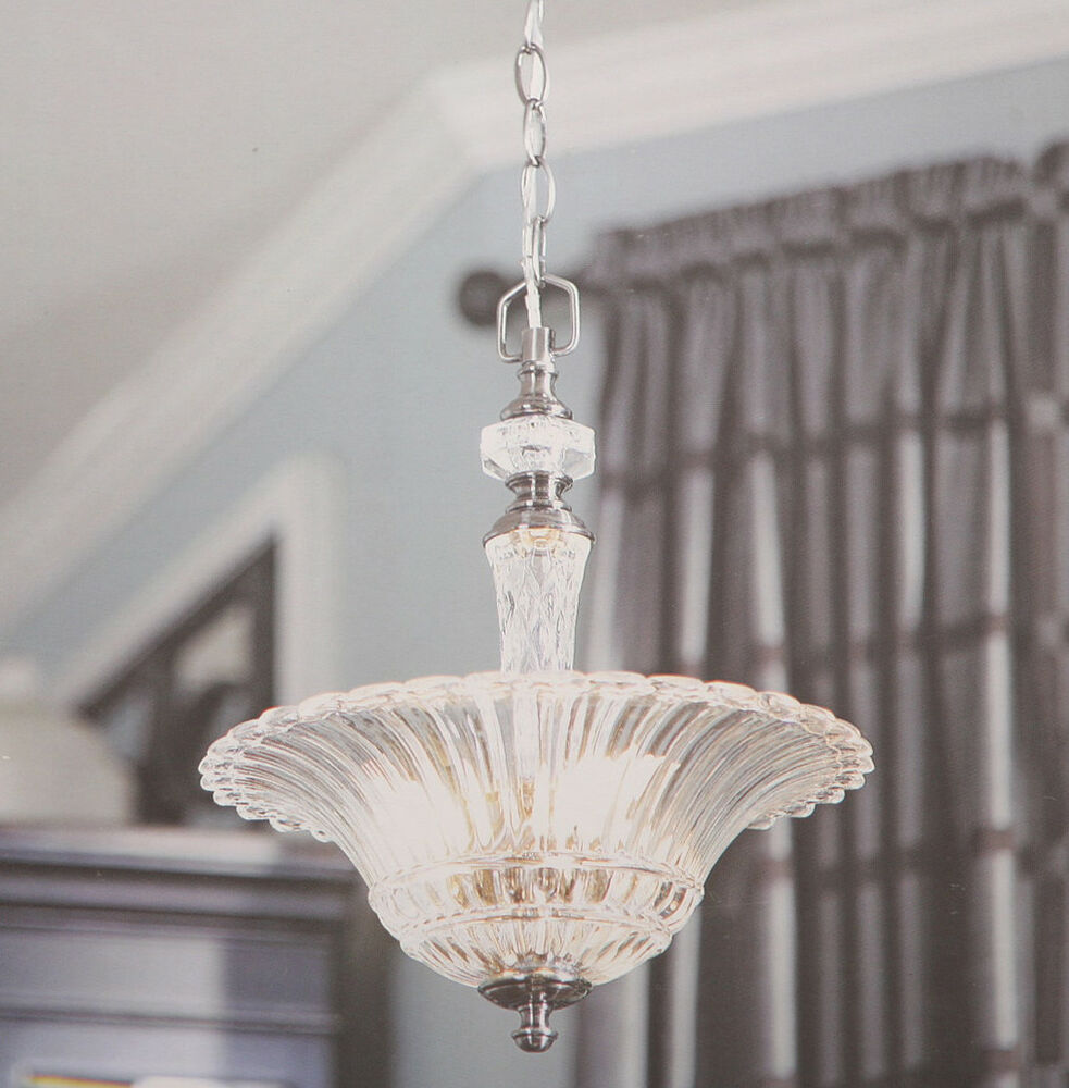 Allen Roth Colfax 3 Light Pendant Polished Pewter Crytal
