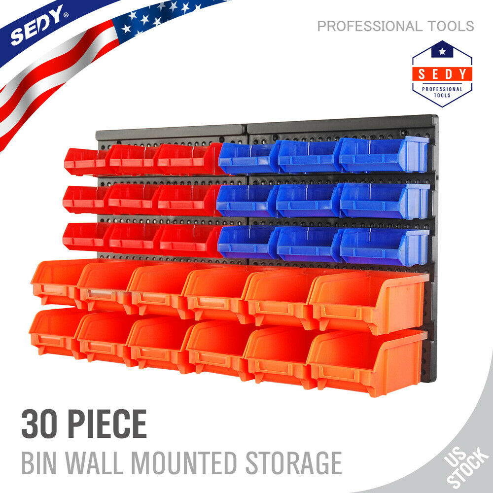 30 Bin Wall Mount Storage Rack For Garage Shed Warehouse Make Your Own Beautiful  HD Wallpapers, Images Over 1000+ [ralydesign.ml]