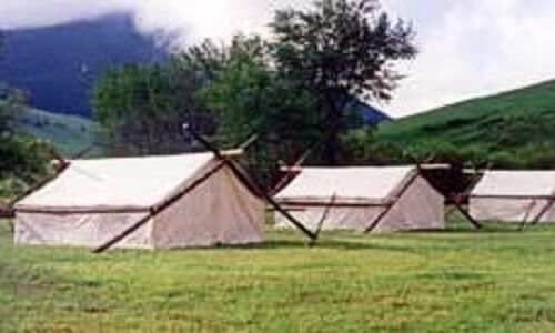 & Canvas Mountain Man / Civil War Wall Tent 8FTx10FT. | eBay