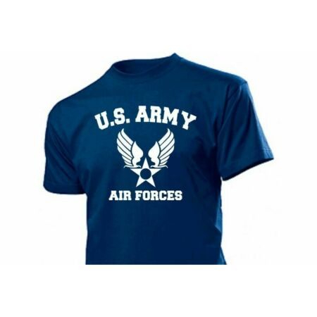 img-US Army Air Forces Pilots USAF T-Shirt Gr S-XXL WK2 WWII USAAF Navy USMC Marines