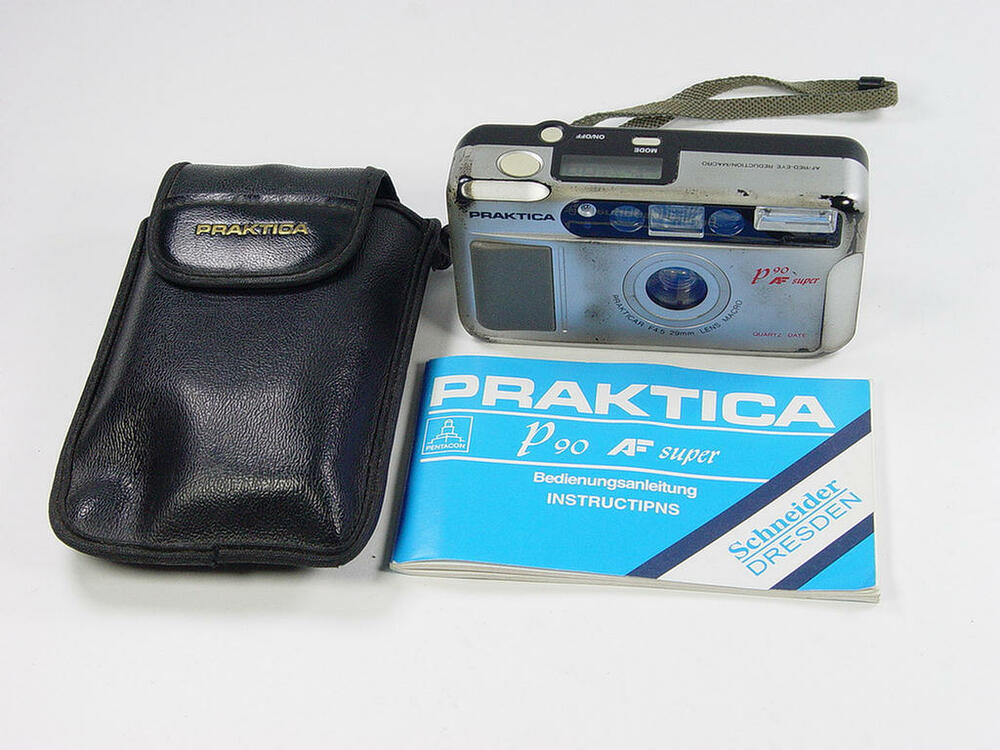 Mm film camera praktica p af super used but good ebay