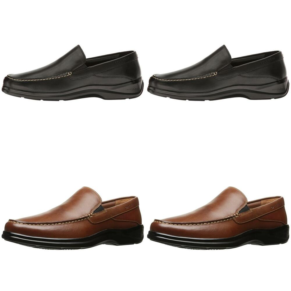 2c8797204eb Cole Haan Men Santa Barbara Twin Gore II Leather Loafer Shoes (WIDE ...