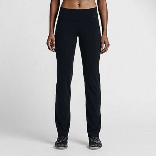 0819b6036f16c Details about NIKE DRI-FIT WOMENS POWER LEGENDARY SKINNY PANTS BLACK SZ XS  #803072-NWT