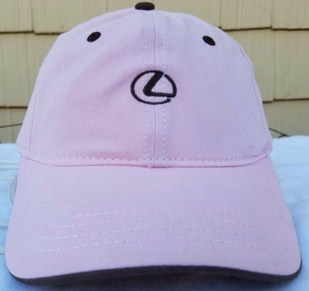Details about The Lexus Collection strapback cap pink brown hat dad hat 529e98736d5b