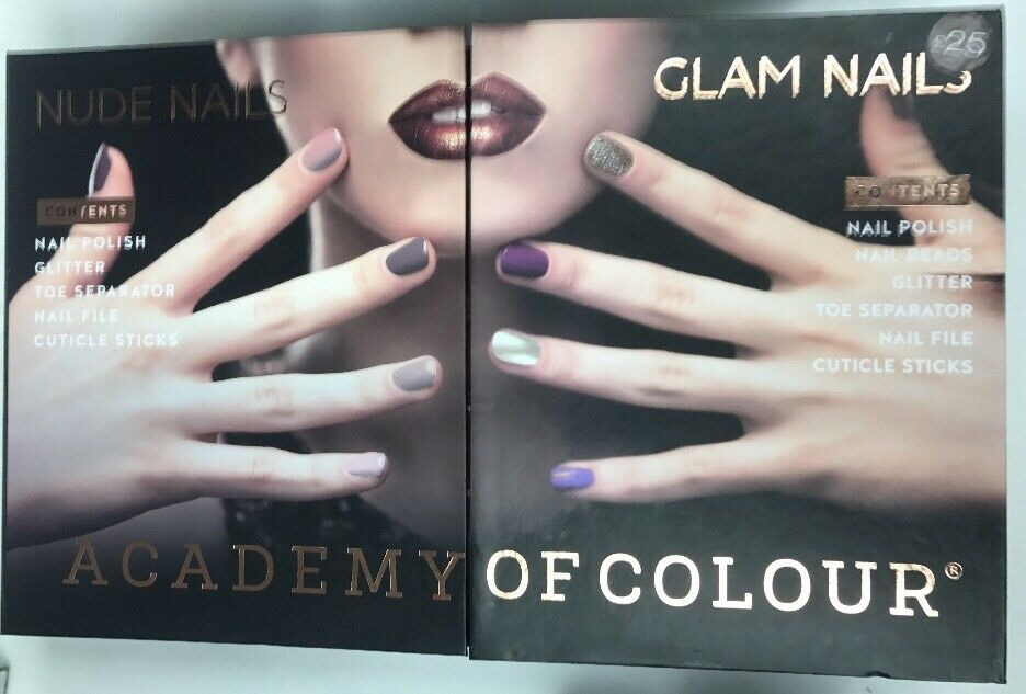 Academy of Colour Nude Nails Glam Nails RRP £25   eBay