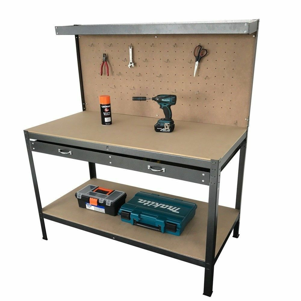 ebony build desk workbenches pegboard an metal garage bench workbench benches storage simple heavy cabinets tool drawers steel cabinet with work and duty organized