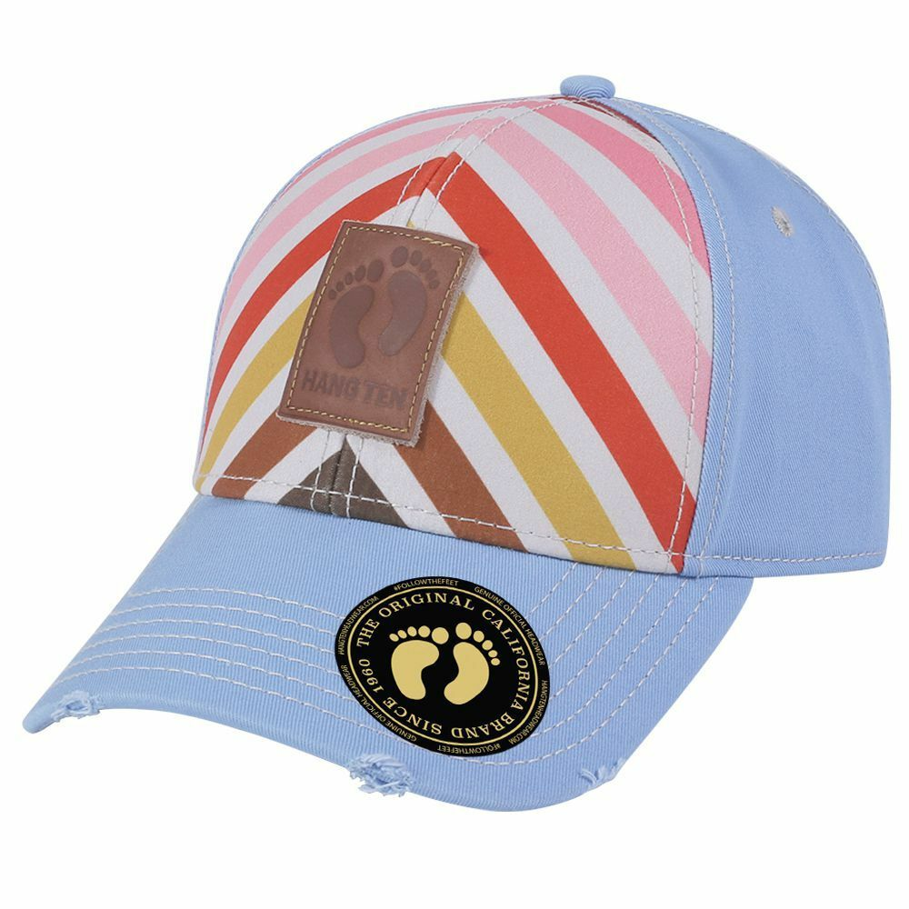 c296708a0ac Details about Hang Ten Washed Cotton Twill Cap