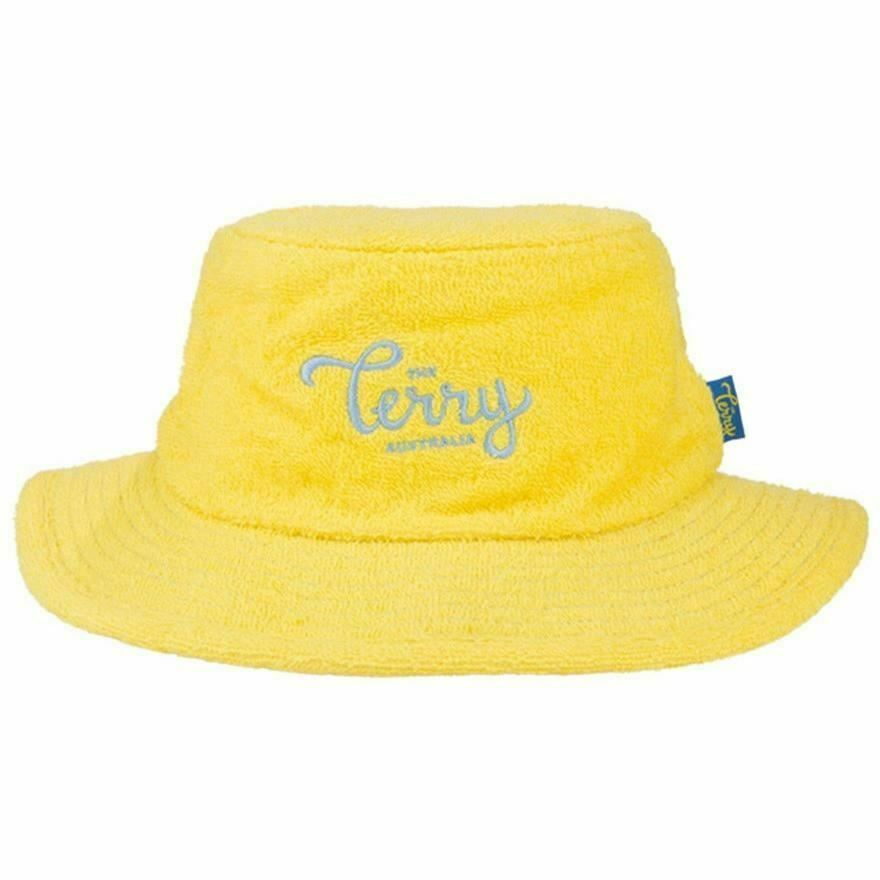 605d16c0a6d Details about Terry Towelling Bucket Hat Narrow Brim Fishing Camping  Cricket Aussie Sun Hat