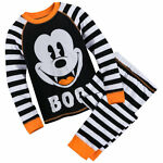 Disney Mickey Mouse Scary PJ Pals Boys Baby Size 0 3 9 12 18 24 Months
