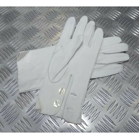 img-Genuine British Military Ceremonial Deerskin 3 Dart Leather Gloves - Un-issued