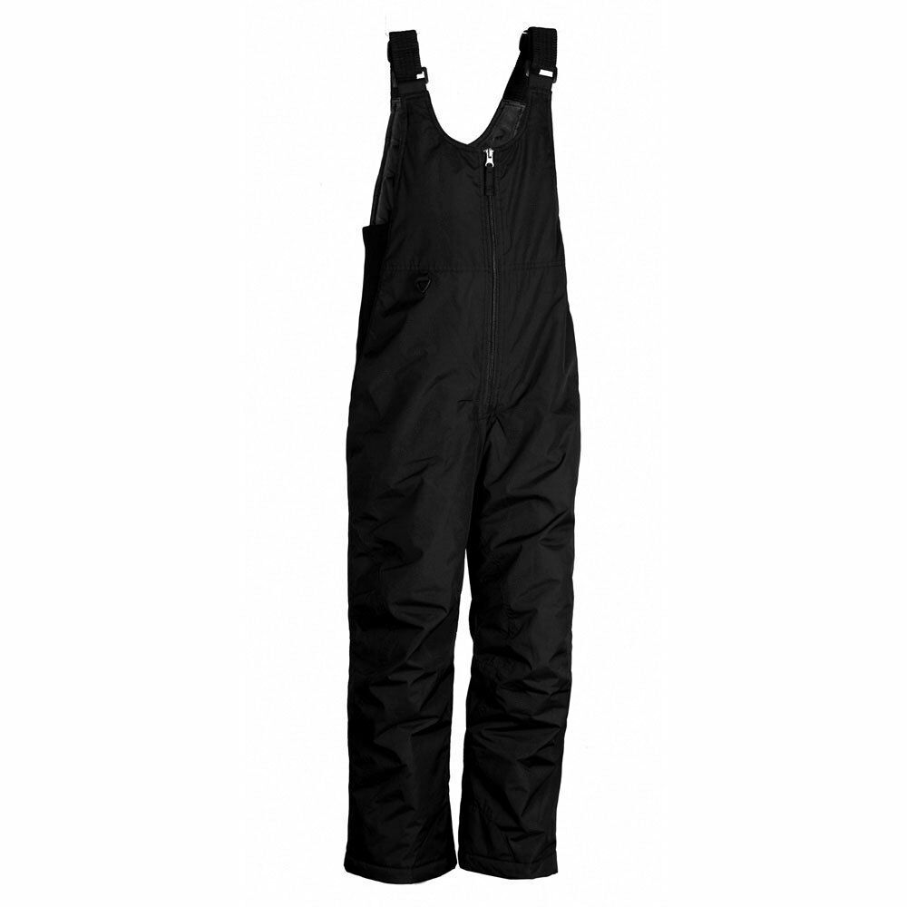Details about White Sierra Black Insulated Ski Bibs Pant or Overalls -  Youth Size Large 14 16 296f3a462
