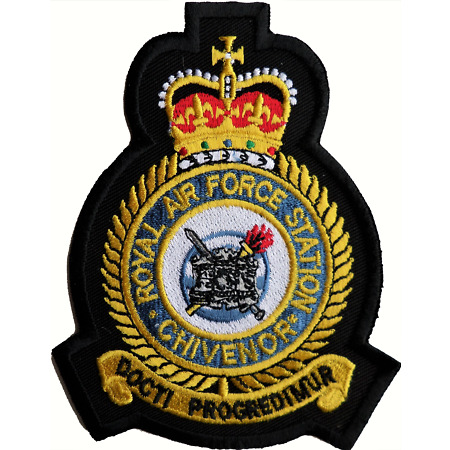 img-RAF Chivenor Royal Air Force RAF Station Crest Embroidered Patch