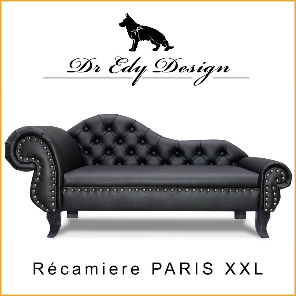 canap pour chien chesterfield recamiere paris xxl lit chaiselongues lux ebay. Black Bedroom Furniture Sets. Home Design Ideas