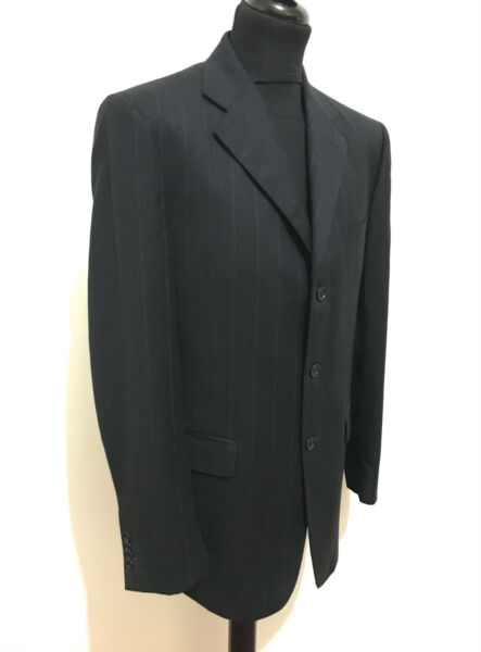 BASILE Completo Giacca Vestito Uomo Lana Wool Full Man Dress Suit Sz.XL - 52