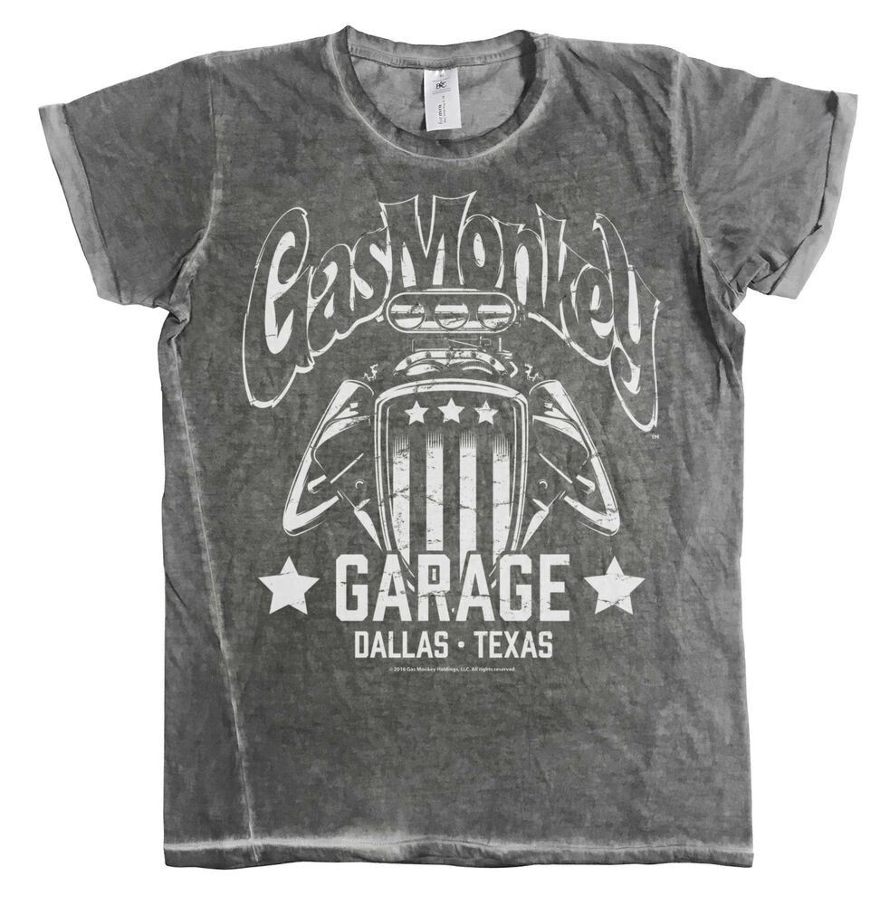 077427ad0f3 Details about Officially Licensed GMG- American Engine Urban Slim Fit Men s  T-Shirt (S-XXL)