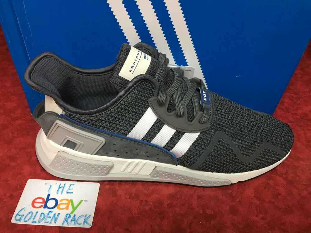separation shoes d22a7 78538 Details about Adidas Originals EQT Cushion ADV Grey Five White Core Black  Mens Running DA9533