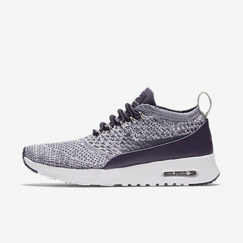 designer fashion 35511 4adc3 Details about Women Nike Air Max Thea Ultra FK Running Shoes Sz 6.5-10  Purple White 881175 500