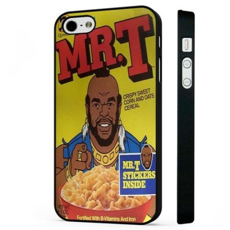 img-Mr T BA Barracus A Team Funny BLACK PHONE CASE COVER fits iPHONE