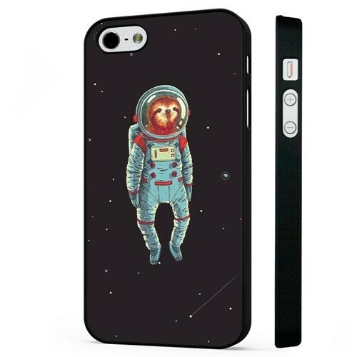 sloth astronaut phone case - 500×500