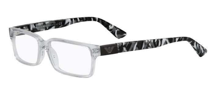 f4af5952609 Details about EMPORIO ARMANI EA 9594 CRK CLEAR PLASTIC EYEGLASSES FRAME  ITALY 53-14-140 NEW