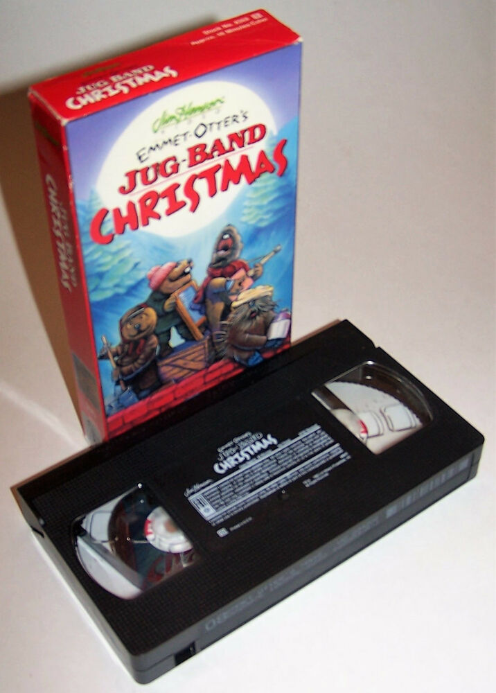 Vintage Jim Henson\'s Emmet-Otter\'s Jug-Band Christmas VHS Video ...