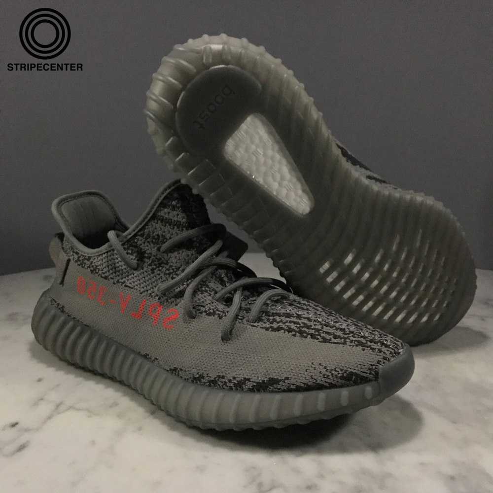 2f3c33ac6e585 Details about adidas YEEZY BOOST 350 V2  BELUGA 2.0  - GREY BOLD  ORANGE DARK GREY - AH2203