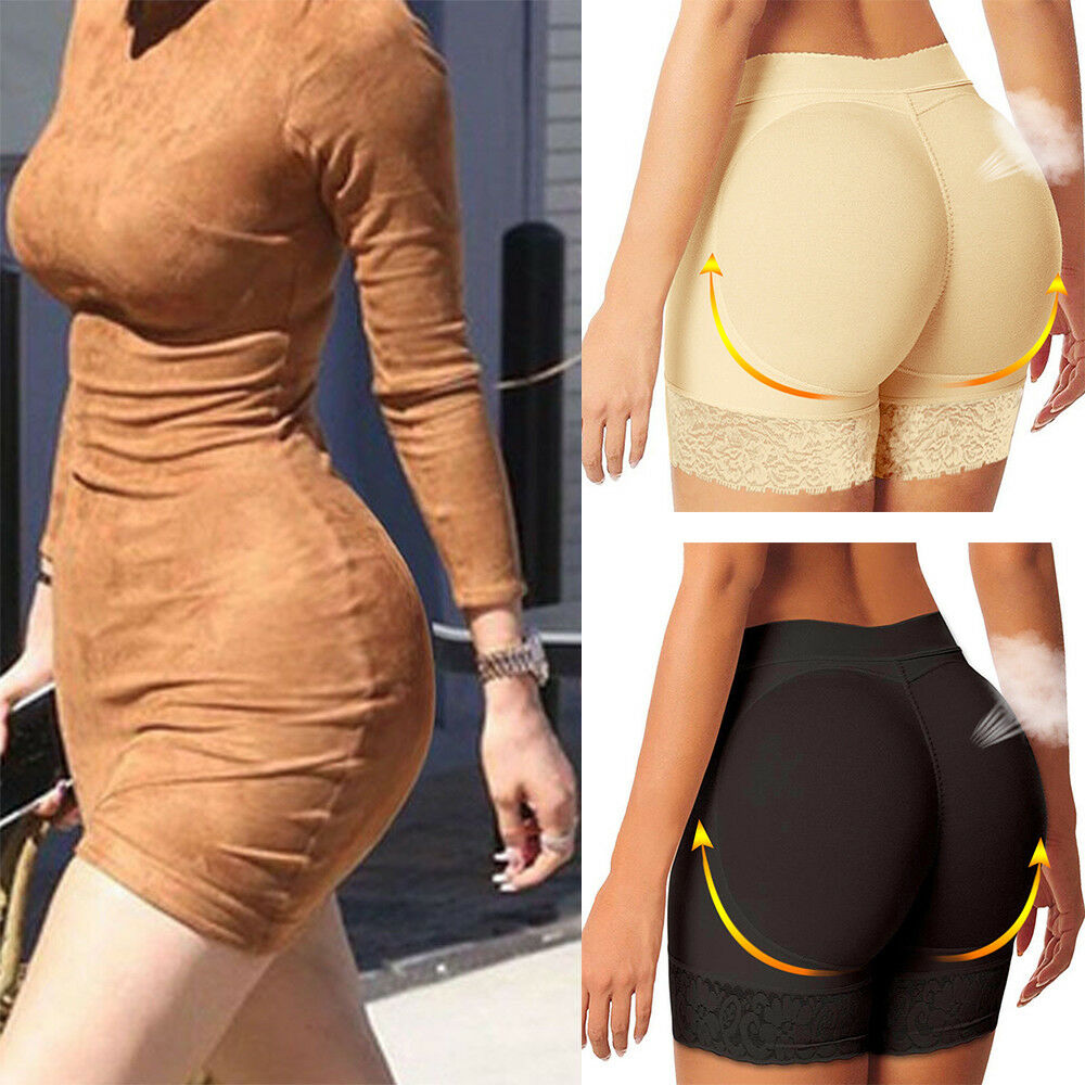 b63628c451e6 Details about Women Padded Panties Hip Enhancer Bum Butt Lift Body Shaper  Underwear Shapewear