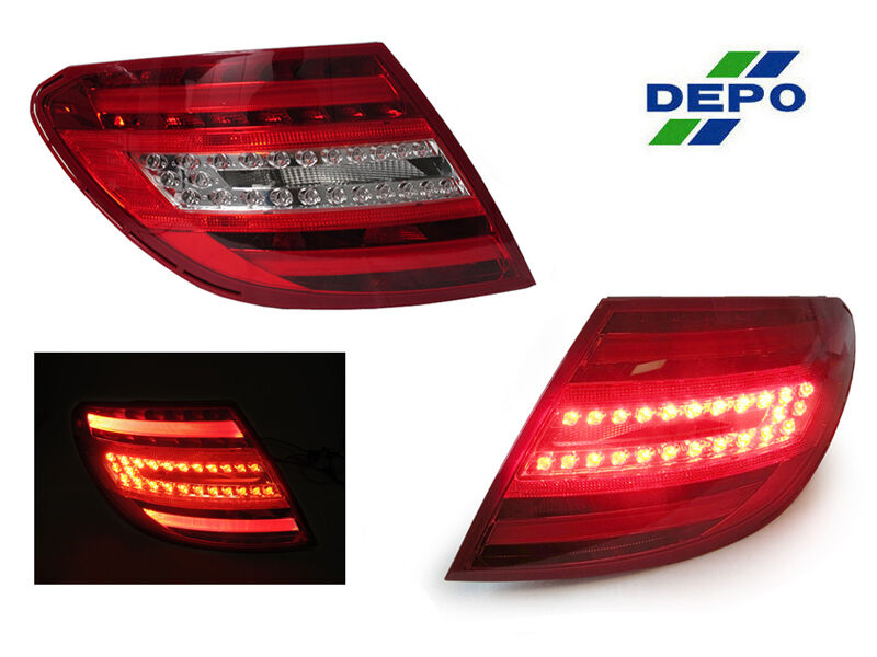 Depo True Oem Facelift Look Led Tail Lights For 2008 2011