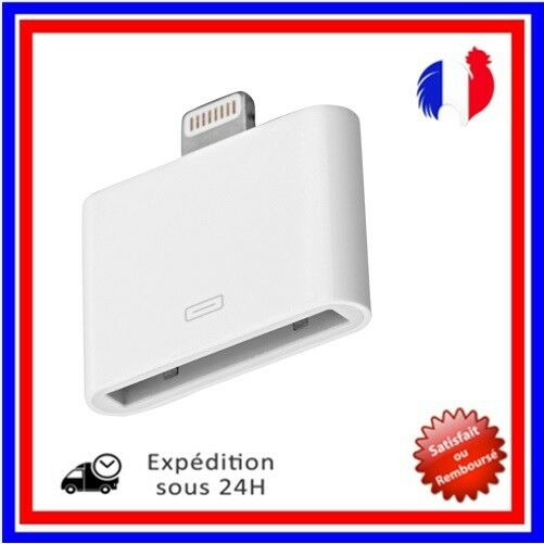 Adaptateur Chargeur Foudre Apple 30 à 8 broches micro usb IPhone 4 5 6 7 8 X 7+