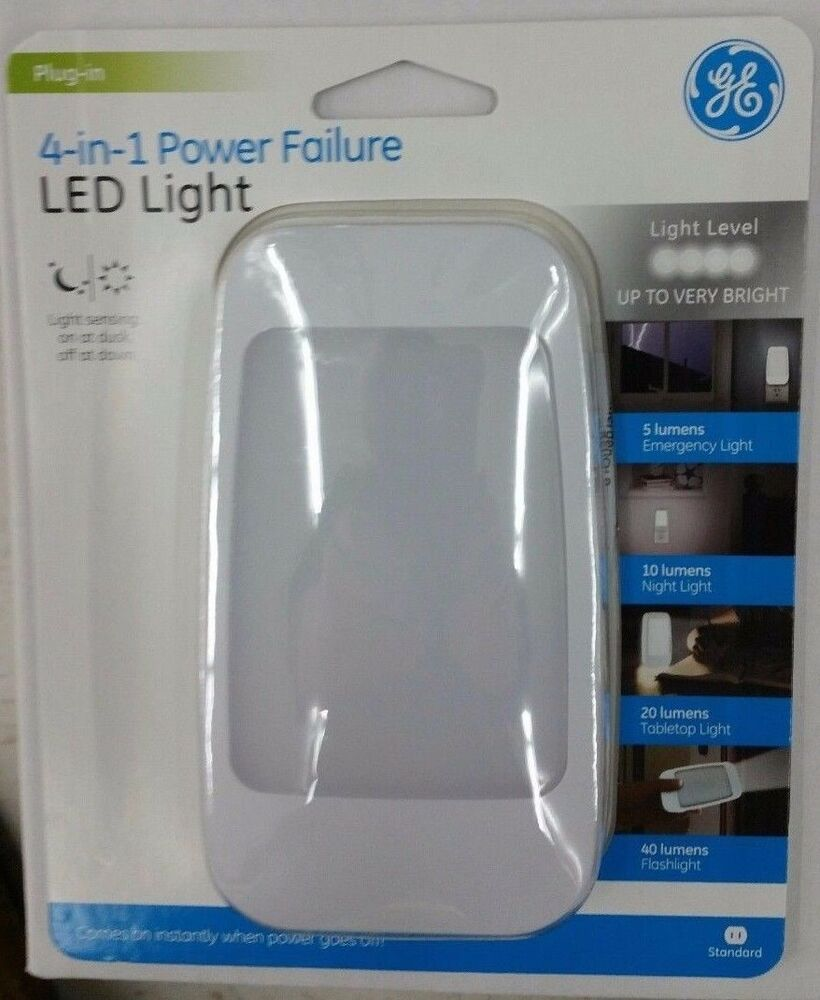 Rechargeable Power Failure Led Night Light 4 In 1