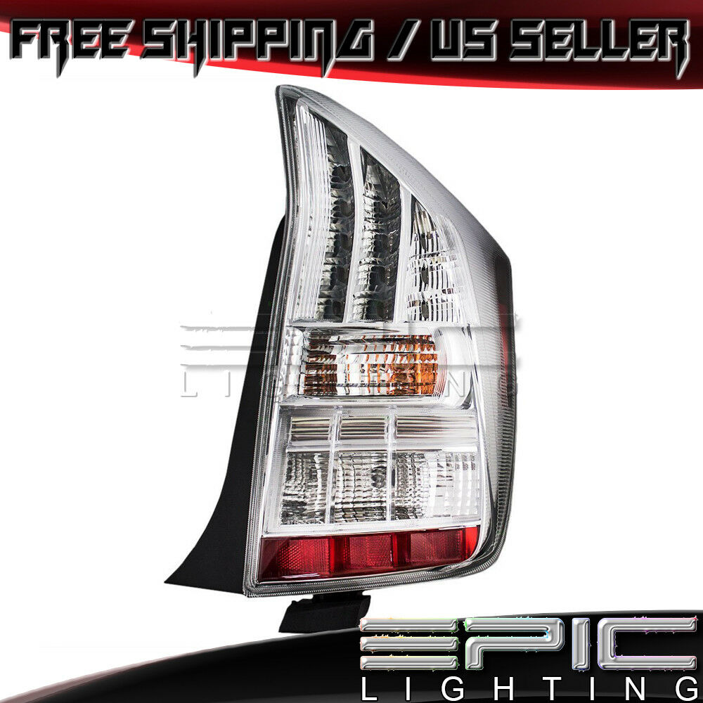 Details About 2010 2017 Toyota Prius Rear Brake Tail Light Lamp Right Penger Side Rh