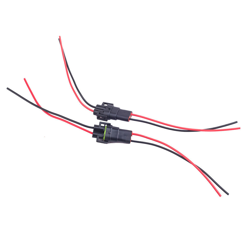 h8 h11 wiring harness socket female male adapter connector
