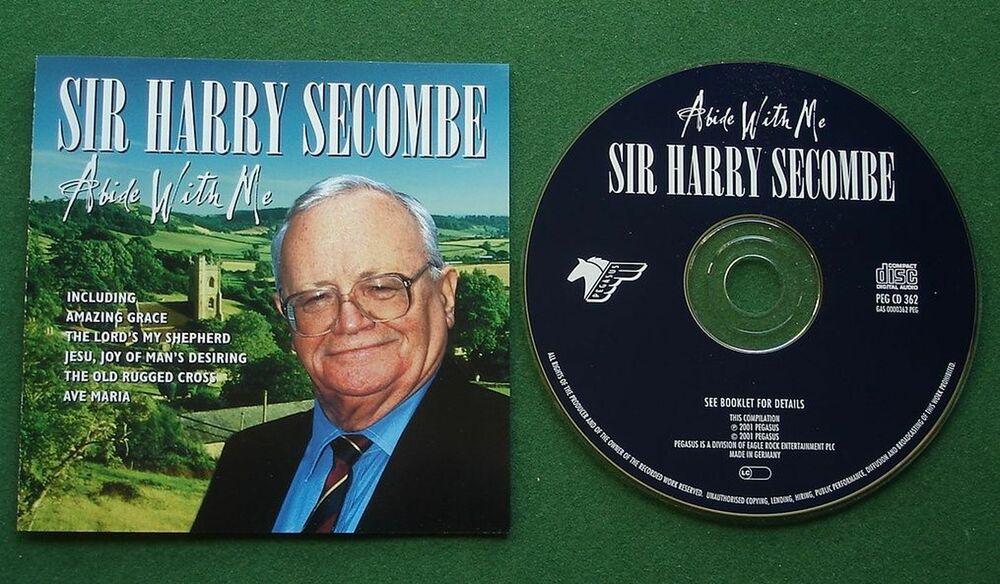 Harry Secombe Abide With Me Inc Bless This House Cd 5034504236226 Ebay